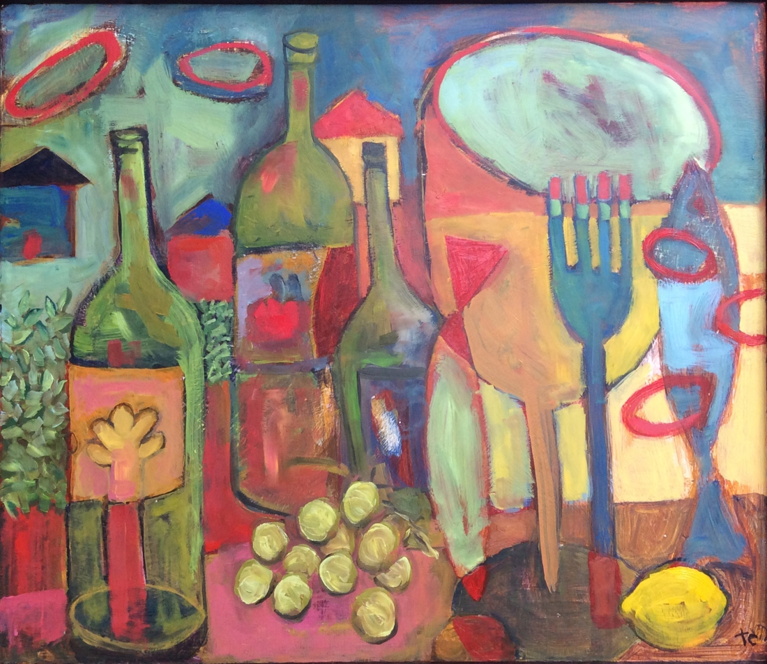 Still Life with Wine #1